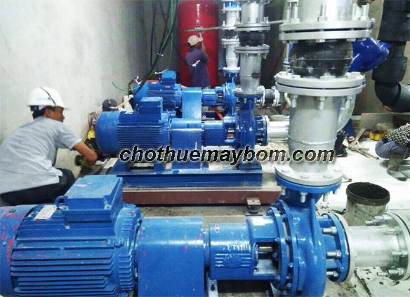 Cho thuê máy bơm nước công nghiệp