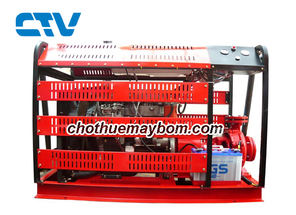 Cho thuê máy bơm Diesel tại Hà Nội