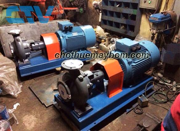 Cho thuê máy bơm nước công nghiệp Ebara nhanh chóng, giá tốt nhất tại Hà Nội