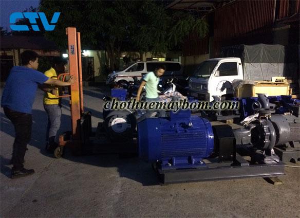 Dịch vụ cho thuê máy bơm nước giá rẻ tại Hà Nội