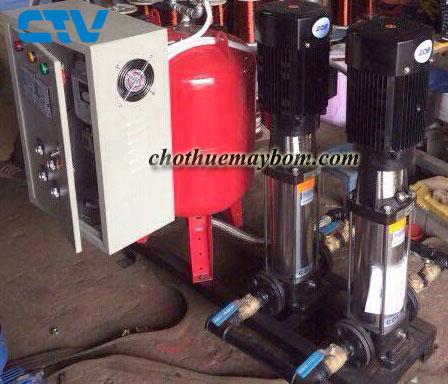 Cho thuê máy bơm trục đứng với giá rẻ nhất tại Hà Nội