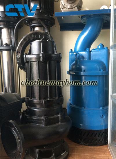Giới thiệu dịch vụ cho thuê máy bơm chìm nước thải uy tín số 1 tại Hà Nội