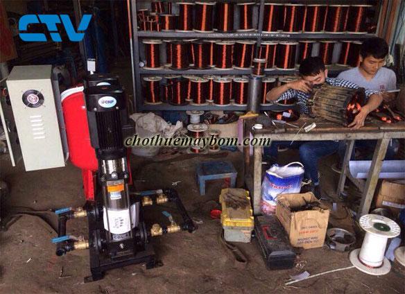 Cho thuê máy bơm công nghiệp nhanh chóng, giá rẻ