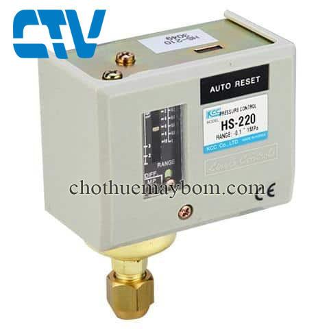 Công tắc áp suất rơ le HS 220