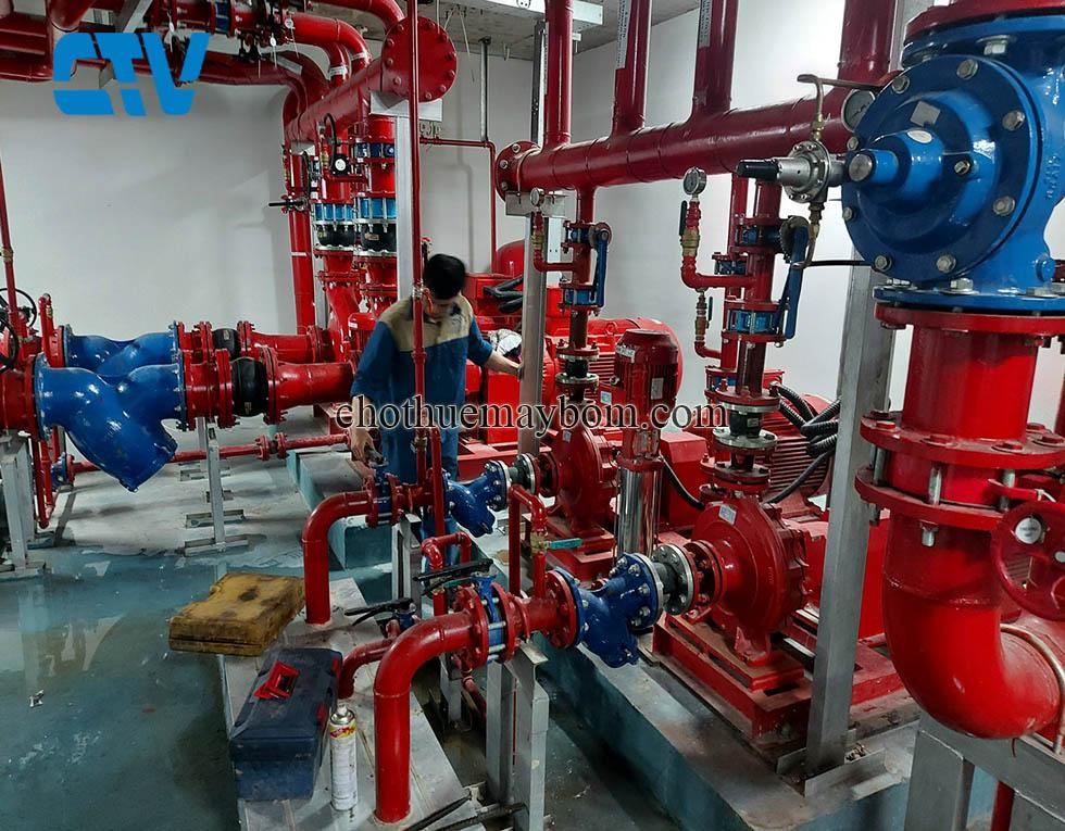 Bảo dưỡng, sửa chữa máy bơm chữa cháy